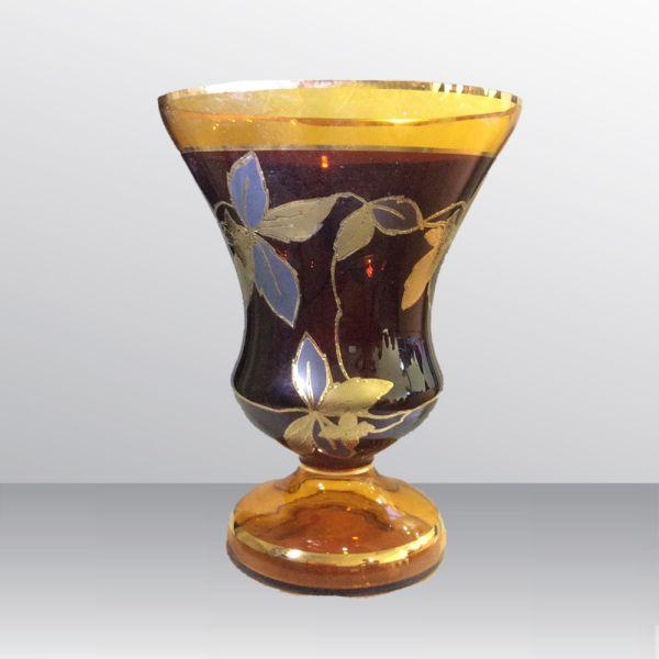 Bình Hoa Thủy Tinh Mạ Vàng 84206-35-16603-85