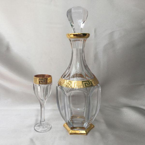 Bộ Bình Ly Pha Lê Mạ Vàng 99999-99R83-050AU