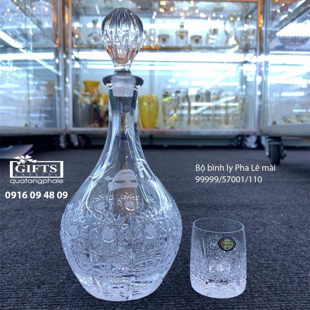 Bộ bình ly pha lê mài 99999-57001-110