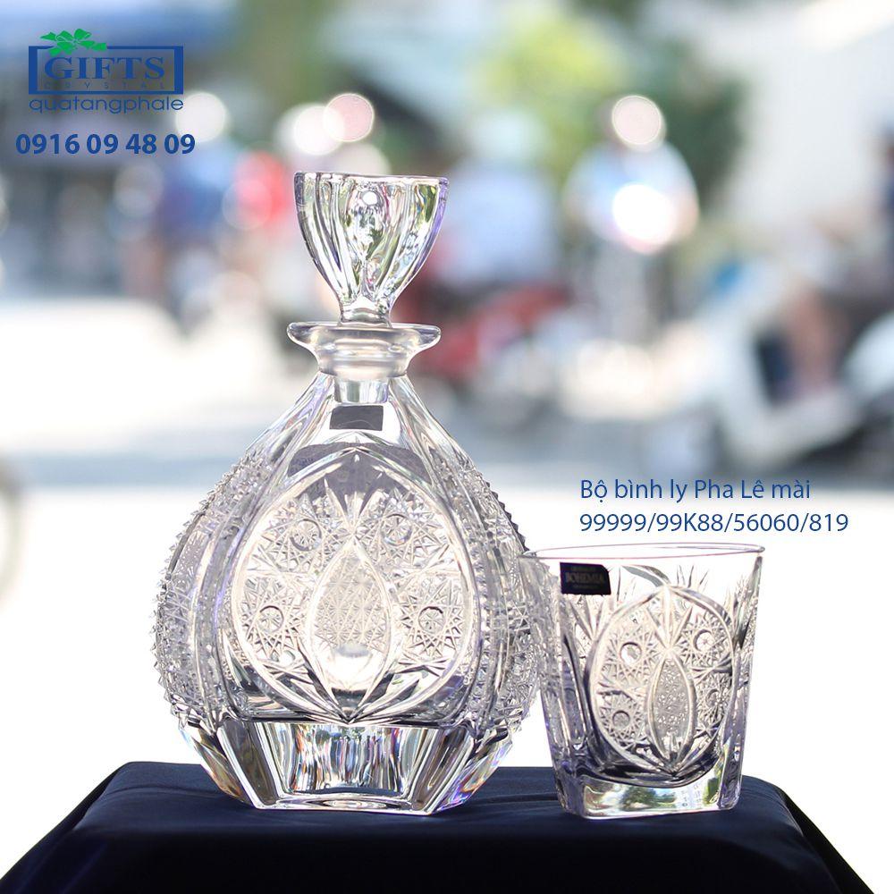 Bộ Bình Ly Pha Lê Mài 99999-99K88-56060-819