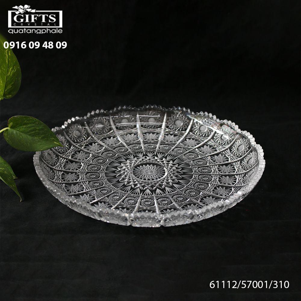 Đĩa pha lê mài 61112-57001-310