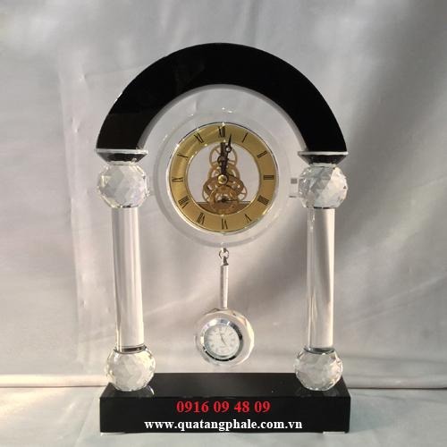 Đồng Hồ Pha Lê Để Bàn CL-008