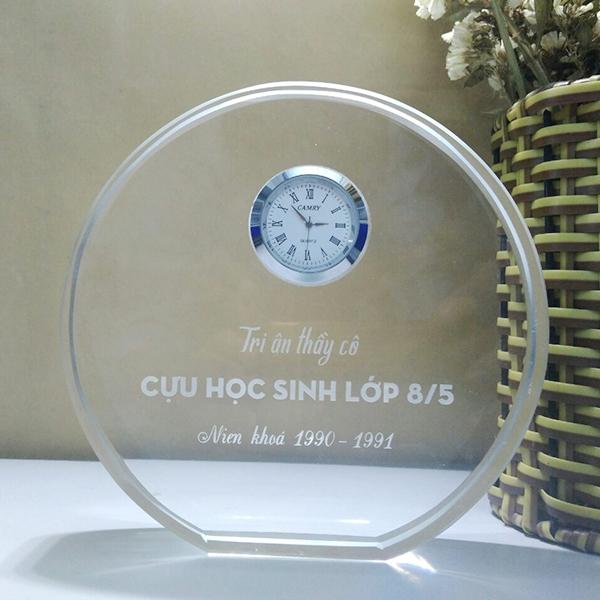 Đồng Hồ Pha Lê Để Bàn DHCC-020