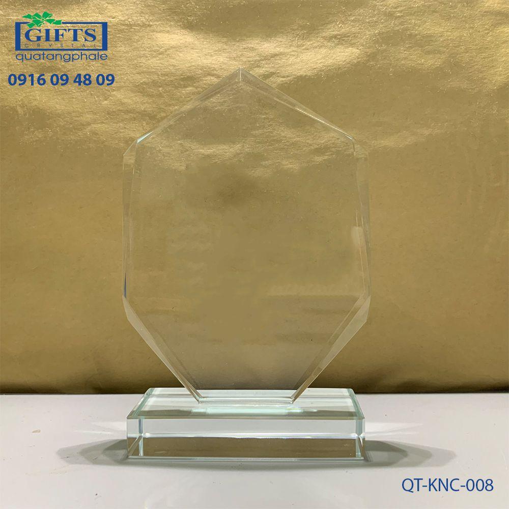 Kỷ niệm chương pha lê QT-KNC-008