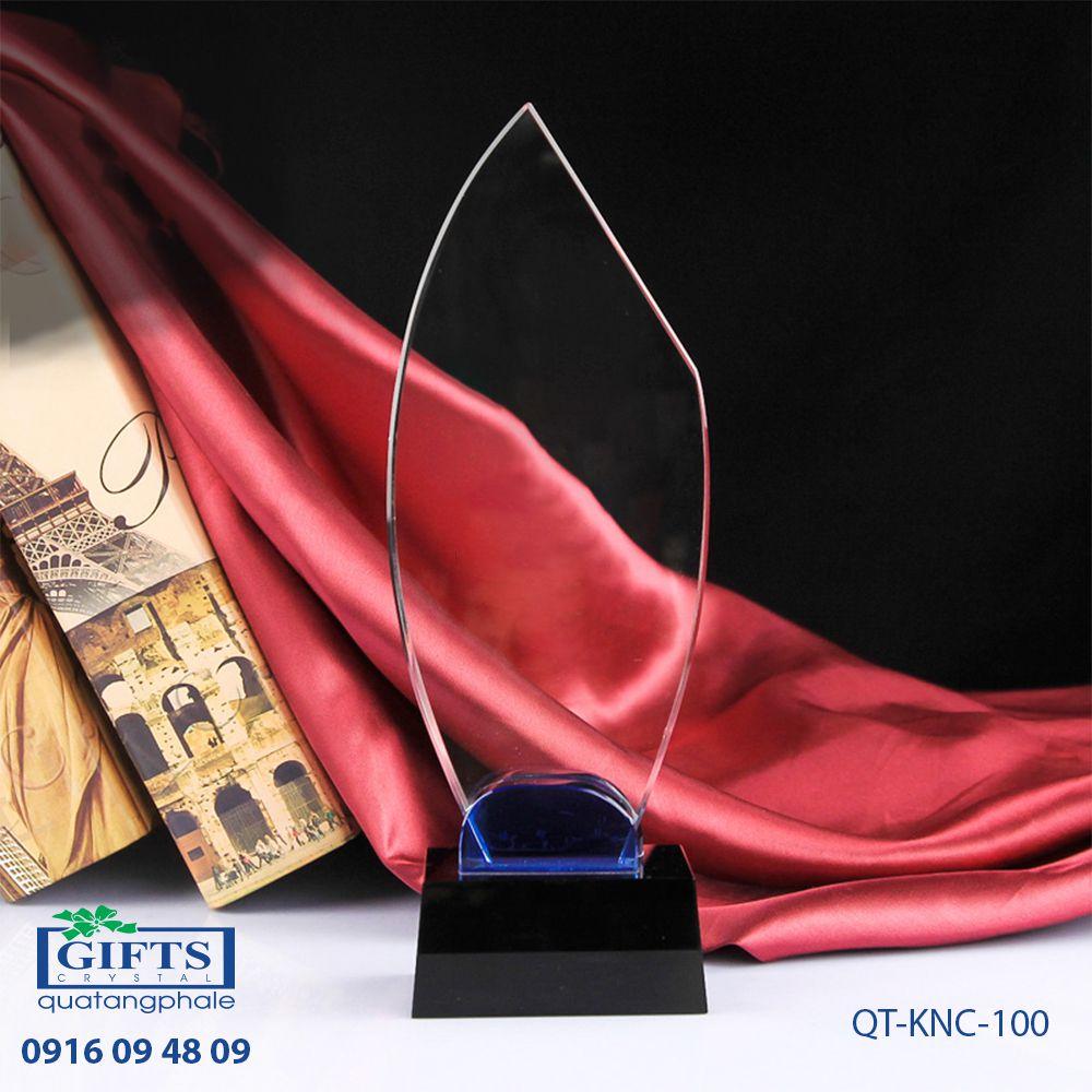 Kỷ niệm chương pha lê QT-KNC-100
