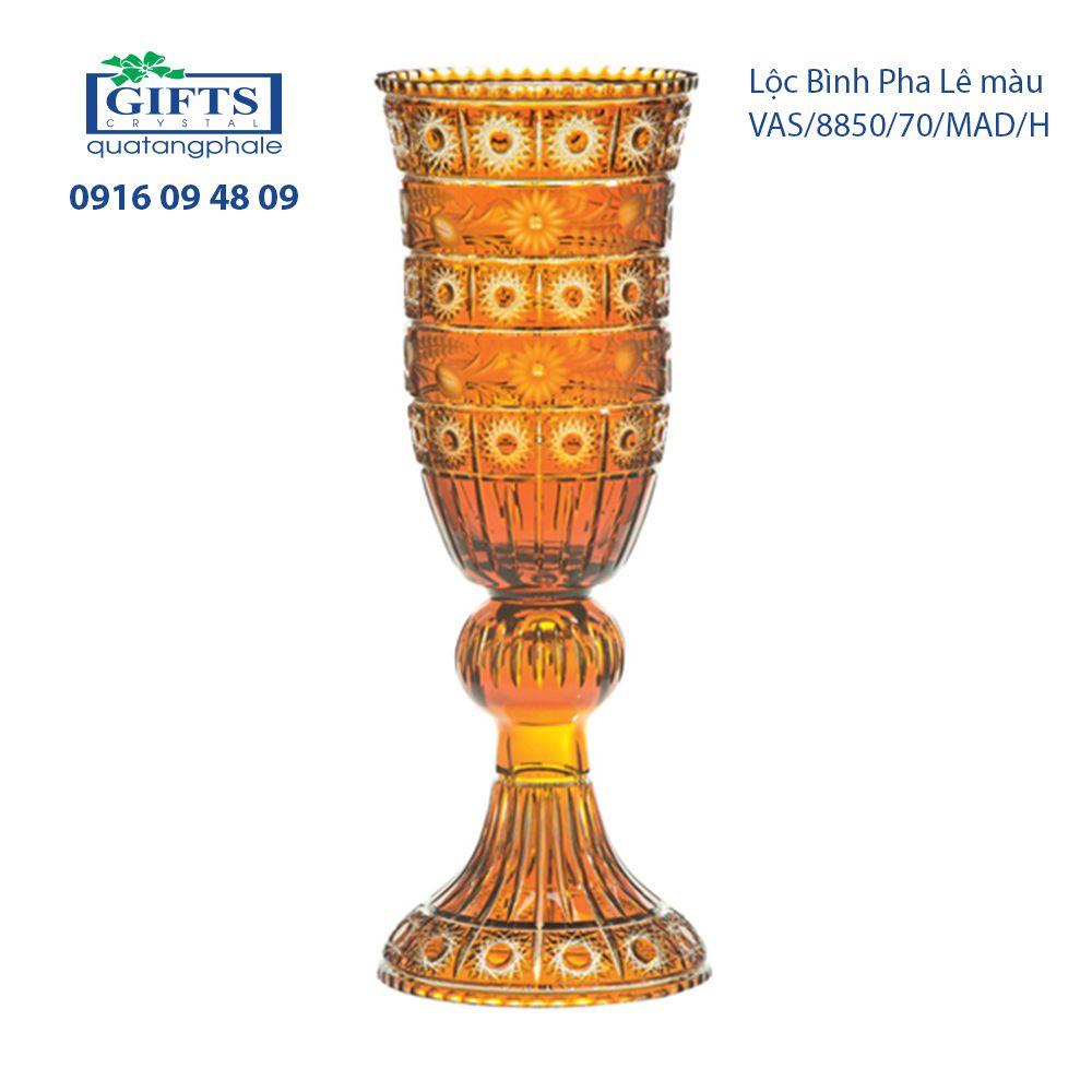 Lộc Bình Pha Lê vas-madlein-8850-70 Sắc Vàng Phú Quý