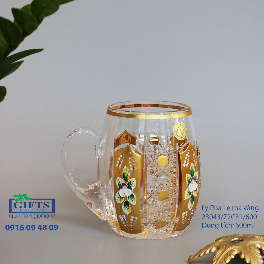 Ly pha lê mạ vàng 23043-72C31-600