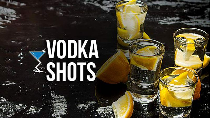 ly uong ruou vodka shots